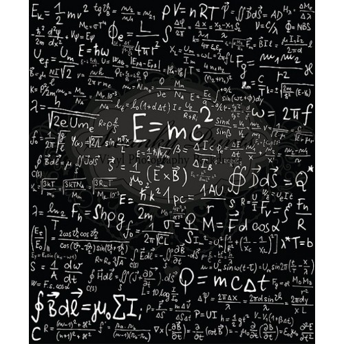 Math Chalkboard Backdrop